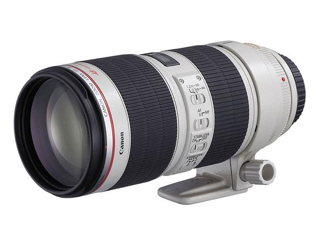 H Canon θα παρουσιάσει νέους 70-200mm στο f/2.8 και το f/4