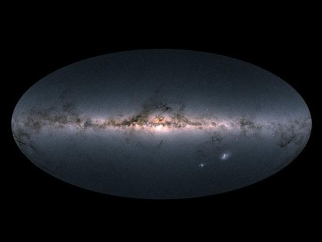 Η ESA αποκαλύπτει τον πιο λεπτομερή χάρτη 360 μοιρών του Γαλαξίας μας μέχρι σήμερα
