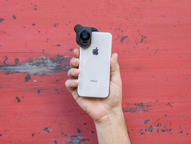 Olloclip Connect X: Νέο σύστημα φακών αποκλειστικά για το iPhone X