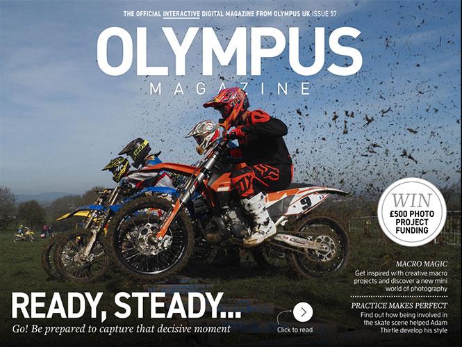 Διαθέσιμο το 57ο τεύχος του Olympus Magazine