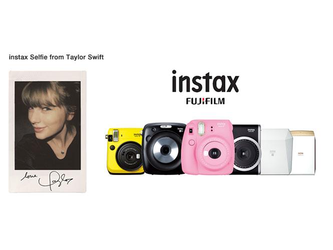 Η Taylor Swift είναι το νέο πρόσωπο των Fujifilm Instax μηχανών