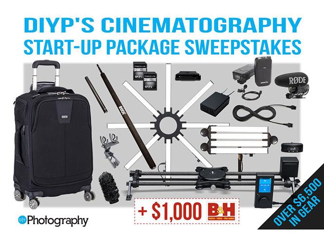 Μεγάλος διαγωνισμός – κλήρωση της DIYPhotography με δώρα 6.500 δολαρίων