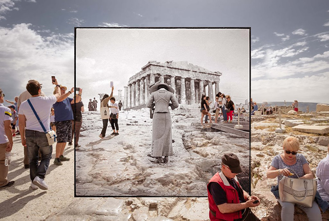Athens Twice Seen: Έκθεση φωτογραφίας του Richard W. Moore