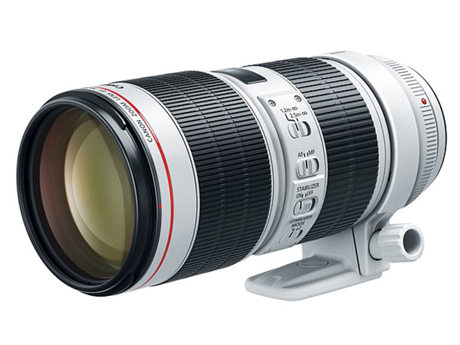 Η Canon παρουσιάζει τον επαγγελματικό τηλεφακό Canon EF 70-200mm F2.8L IS III USM