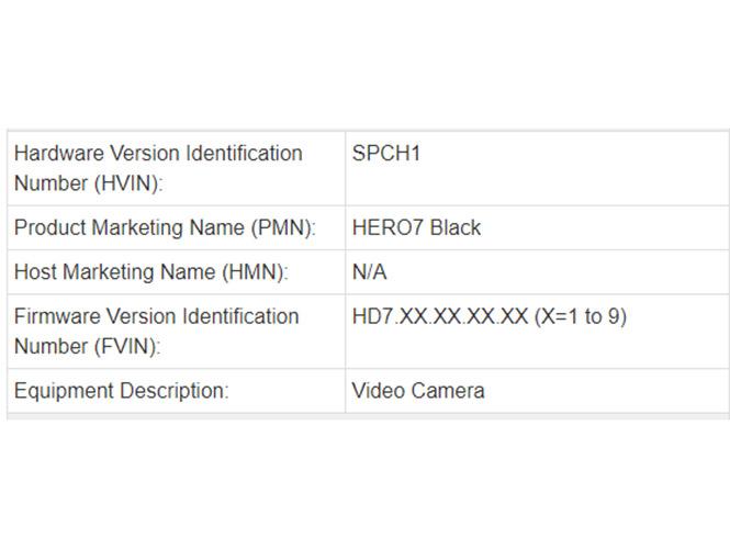Έρχεται η GoPro Hero7 Black;
