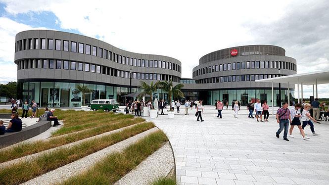 Εγκαίνια για το Leitz-Park, το νέο αρχηγείο της Leica στη Γερμανία