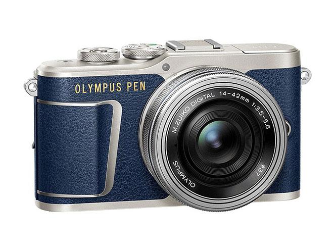 H Olympus PEN E-PL9 τώρα και σε μπλε χρώμα