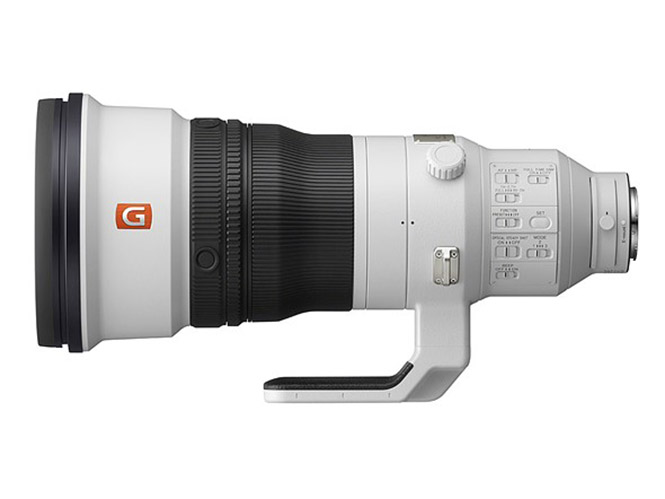 Η Sony αποκαλύπτει τον θηριώδη Sony 400mm F2.8 G-Master