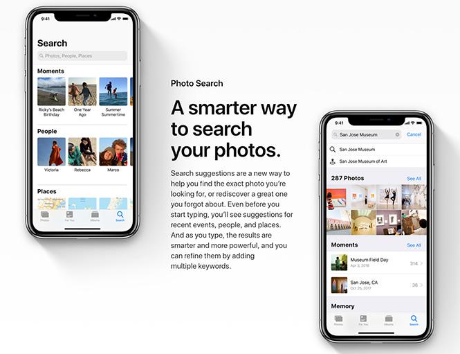 Το iOS 12 φέρνει φωτογραφικές βελτιώσεις