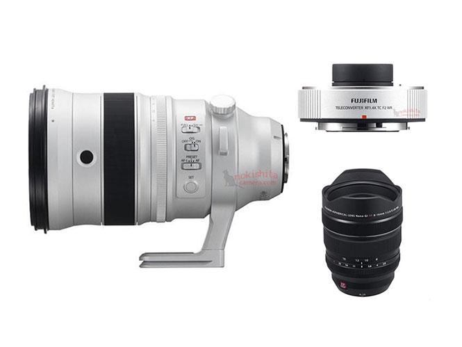 Διέρρευσαν οι φωτογραφίες και οι τιμές των δύο νέων φακών που θα ανακοινώσει η Fujifilm