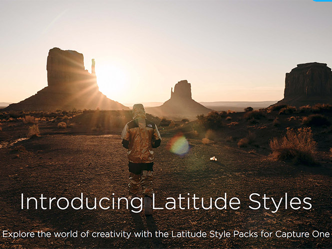 Η Phase One παρουσιάζει τα Capture One Latitude Style Packs