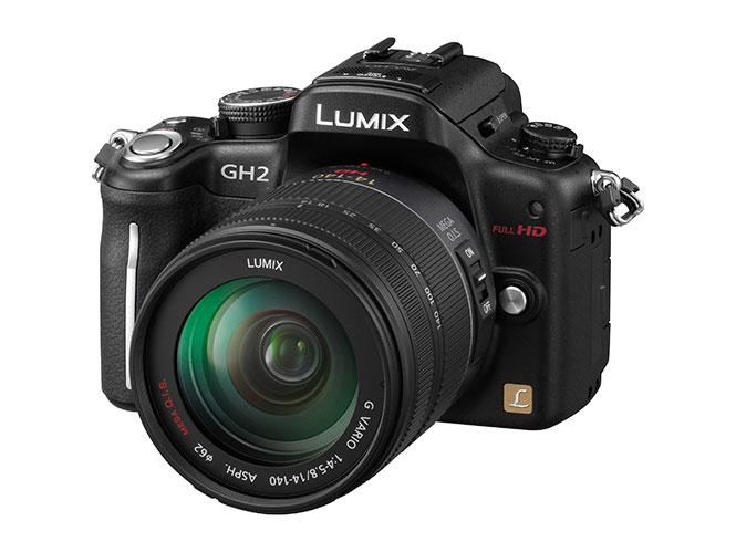 Αναβάθμιση για τη Panasonic LUMIX DMC-GH2