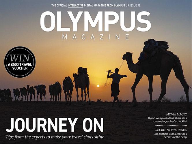 Το 58ο τεύχος του Olympus Magazine είναι διαθέσιμο online