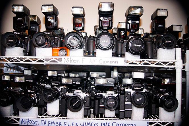 Τεράστια συλλογή φωτογραφικών μηχανών και φακών στο ebay με τιμή στα 56.000 ευρώ