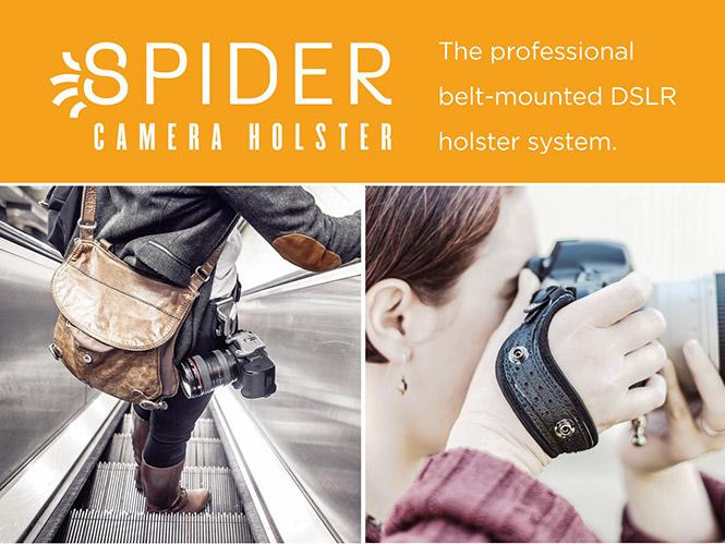 H Spider Camera Holster απέκτησε αντιπρόσωπο στην Ελλάδα
