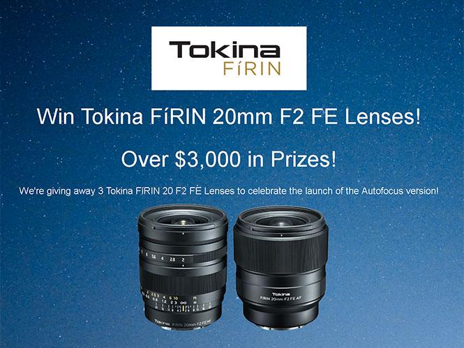 Μεγάλος διαγωνισμός από την Tokina με έπαθλα αξίας 3.000 δολαρίων