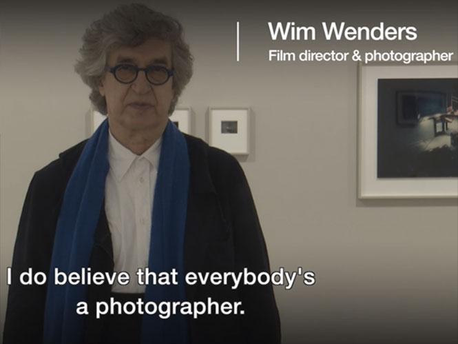Wim Wenders: Τα κινητά έχουν σκοτώσει την φωτογραφία