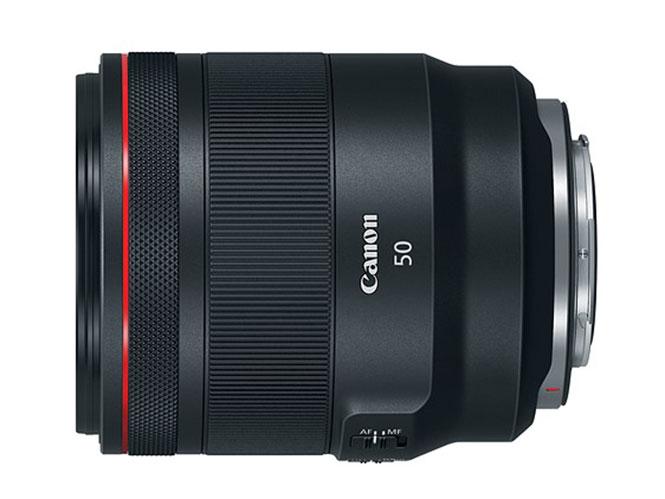 Αναβάθμιση Firmware για τον φακό Canon RF50mm F1.2 L USM