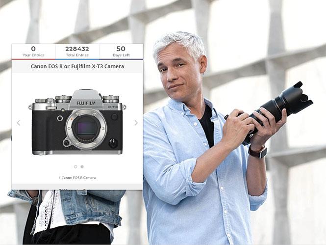 Κέρδισε μία Canon EOS R ή μία Fujifilm X-T3