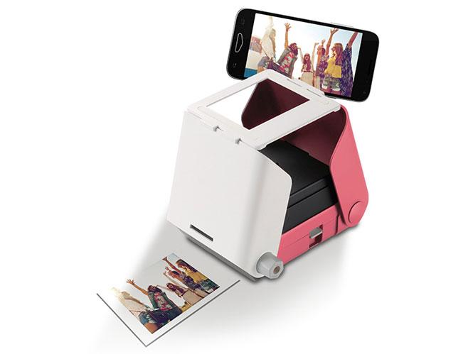KiiPix: Ένας instax εκτυπωτής για άμεση εκτύπωση των φωτογραφιών σας από smartphone