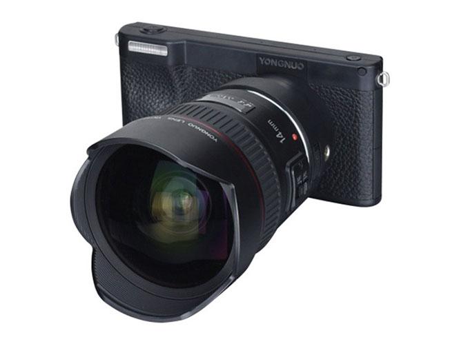 Yongnuo Mirrorless Smart Camera: Θα βγάζει 4K 30fps video και RAW αρχεία, και θα έχει και πίσω κάμερα