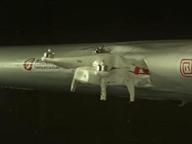 Τεστ με drone να χτυπάει το φτερό αεροπλάνου προκαλεί την επίσημη αντίδραση της DJI