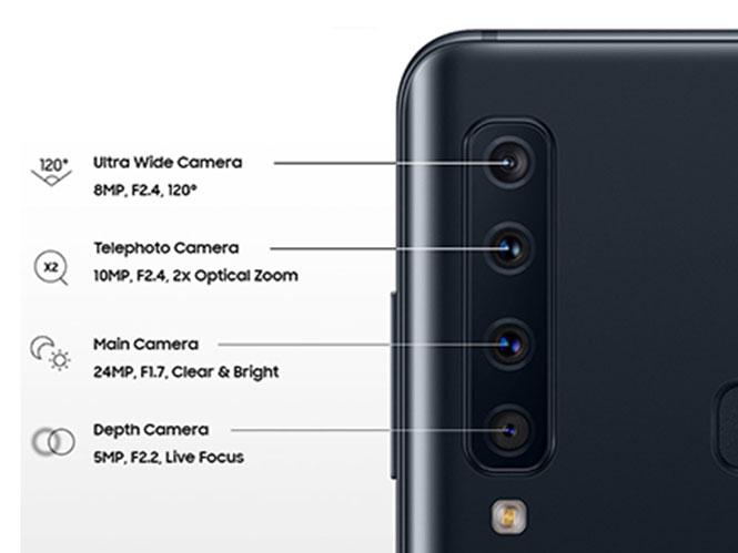 Το Samsung A9 είναι το πρώτο smartphone με 5 κάμερες