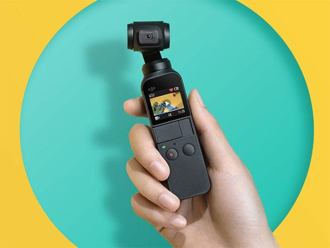 DJI Osmo Pocket, η πιο μικρή κάμερα στον κόσμο με gimbal με αποστολή τα vlog