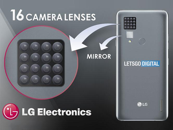 Η LG κατάθεσε πατέντα για smartphone με 16 κάμερες
