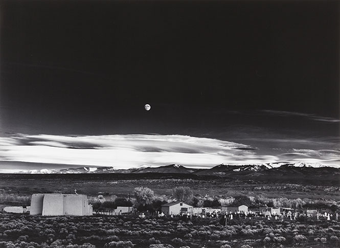 Ansel Adams: Έτσι έβγαλε την σπουδαία φωτογραφία Moonrise, Hernandez