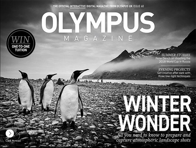 Διαθέσιμο online το νέο τεύχος του ψηφιακού περιοδικού της Olympus