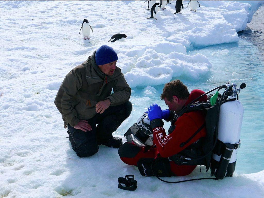 Ακολουθώντας τους Laurent Ballesta και Vincent Munier στην Ανταρκτική