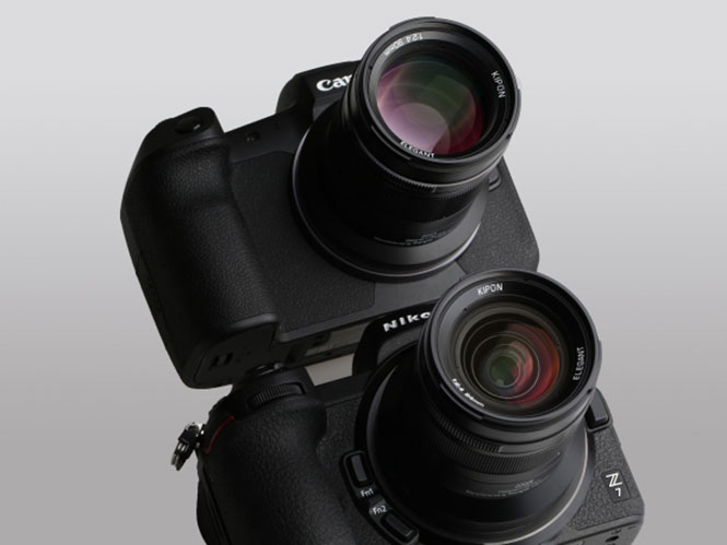H Kipon ανακοίνωσε 5 νέους φακούς για τα νέα συστήματα Canon EOS R και Nikon Z!