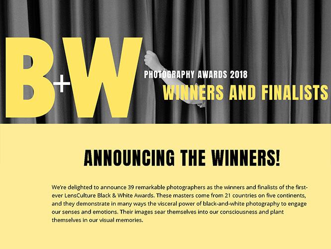 Αυτοί είναι οι νικητές του διαγωνισμού Black & White Awards της LensCulture!