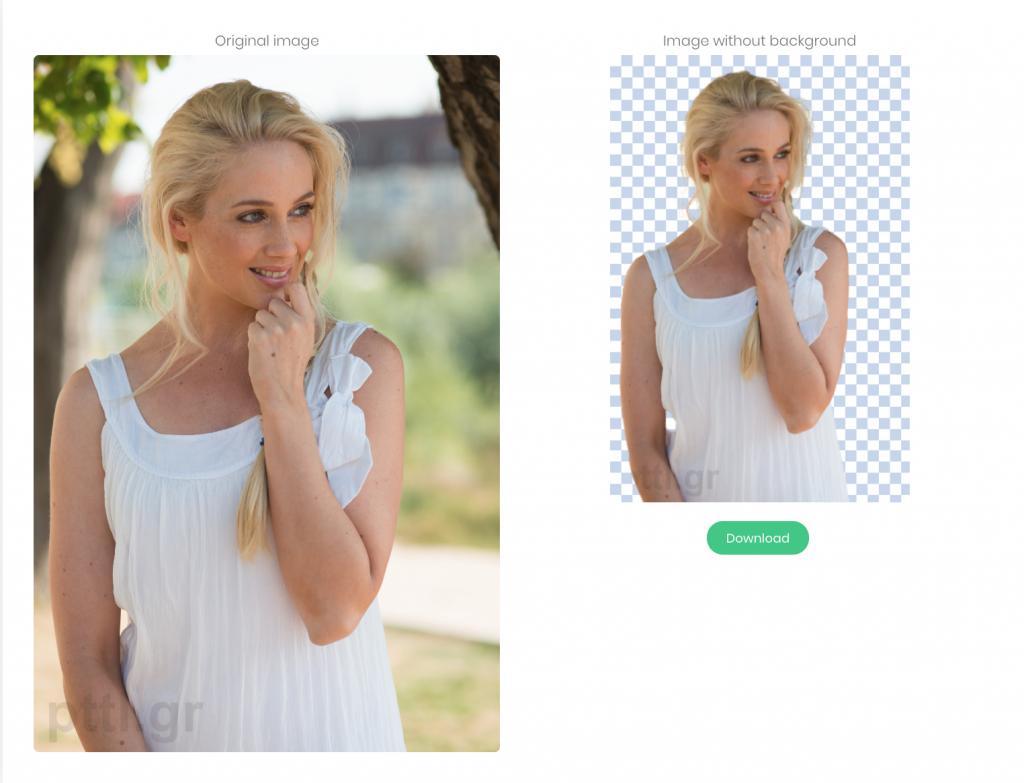 Σε αυτό το site μπορείς να αφαιρέσεις αυτόματα το φόντο της φωτογραφίας σου
