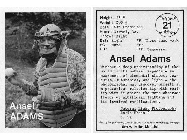 Φωτογράφοι σε κάρτες μπέιζμπολ, όλη η ιστορία πίσω από ένα αστείο project