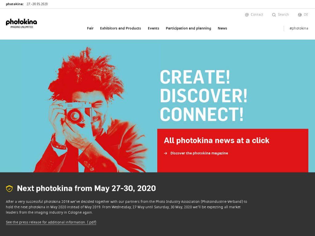 Η Photokina 2019 ΑΚΥΡΩΘΗΚΕ!