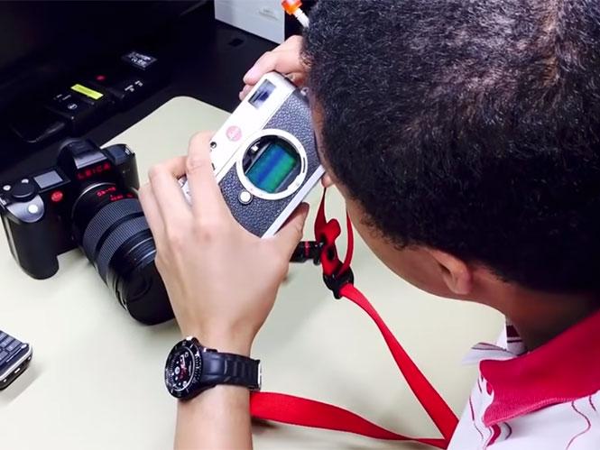 O καθαρισμός αισθητήρα στη Leica μέσα από ένα video που έκανε πολλούς να αντιδράσουν
