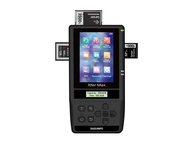 Η XferMax X8-N είναι μία φορητή back up συσκευή για το υλικό σας