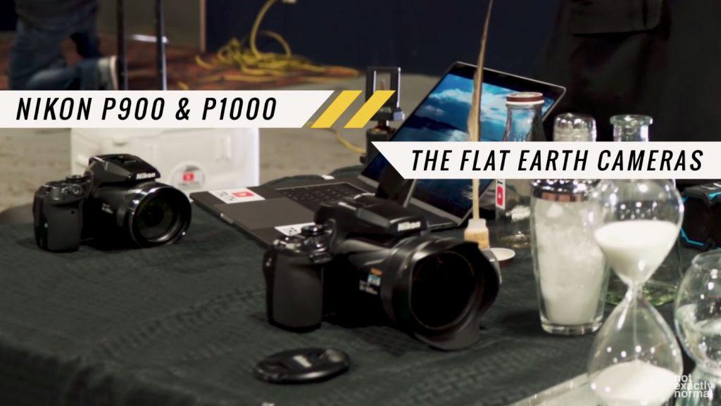 Οι flat earthers αγαπούν τις Nikon P900 και P1000 γιατί αποδεικνύουν ότι η Γη είναι επίπεδη;