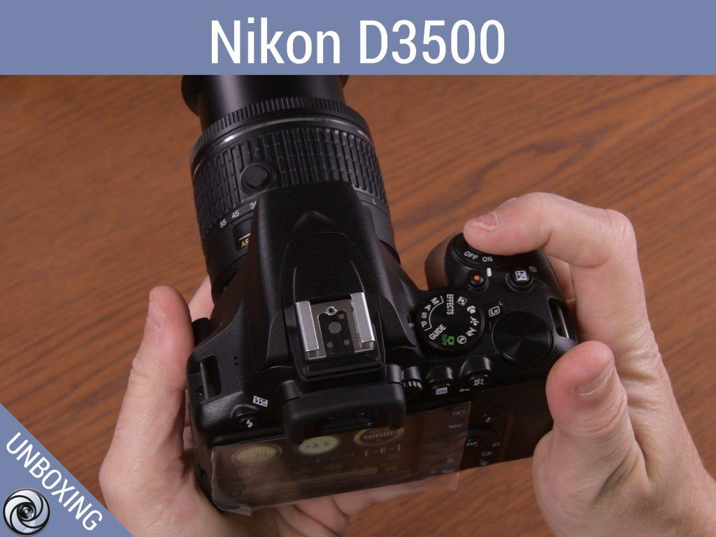 Παρουσίαση της Nikon D3500 στο κανάλι μας στο YouTube (Unboxing)