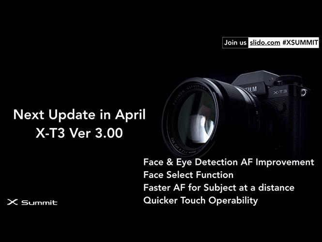 Η Fujifilm ετοιμάζει νέο Firmware για τη Fujifilm X-T3 με βελτιώσεις στο AF