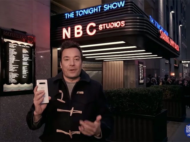 The Tonight Show Starring Jimmy Fallon: Γυρίστηκε με το Samsung Galaxy S10+