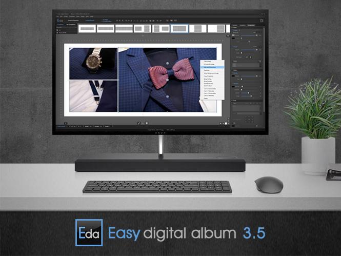 EasyDigital Album 3.5: Νέα έκδοση για το ελληνικό λογισμικό δημιουργίας ψηφιακών Album