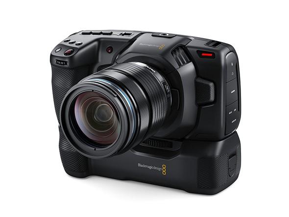 Η BlackMagic παρουσίασε battery grip για την Pocket Cinema Camera 4K