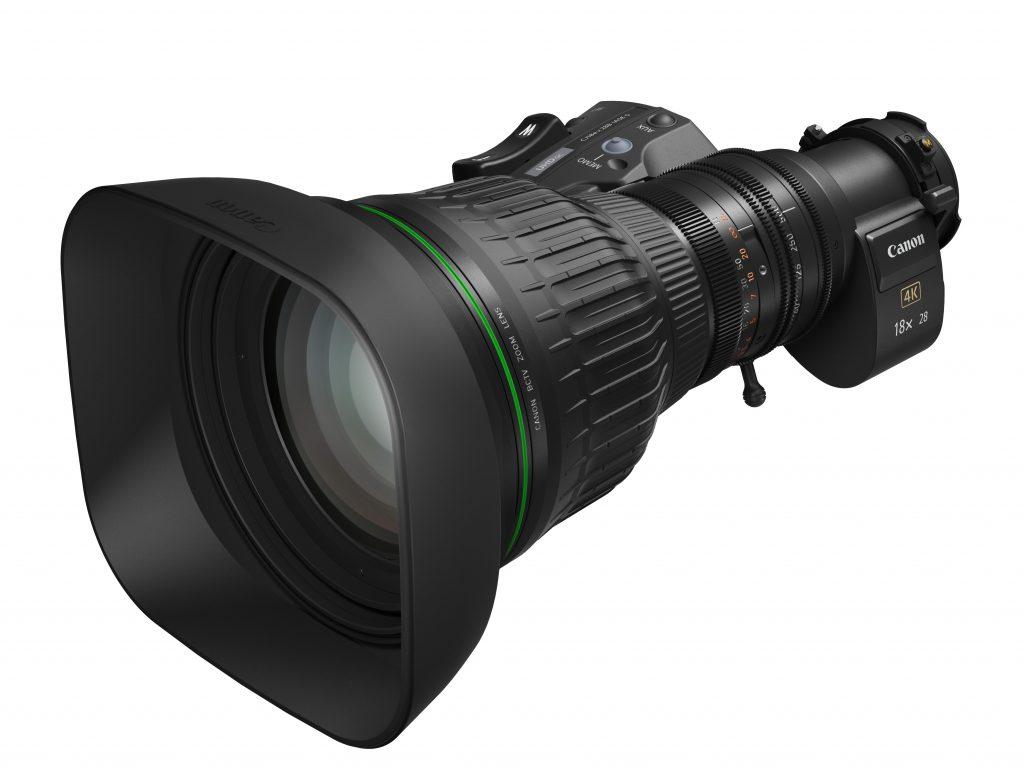 Canon: Δύο νέοι φακοί για κάμερες broadcast 4Κ