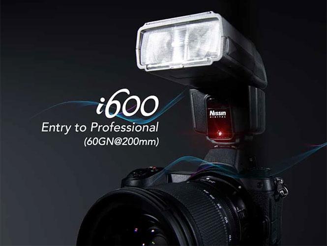 Nissin i600: Νέο Speedlight flash για mirrorless και compact μηχανές