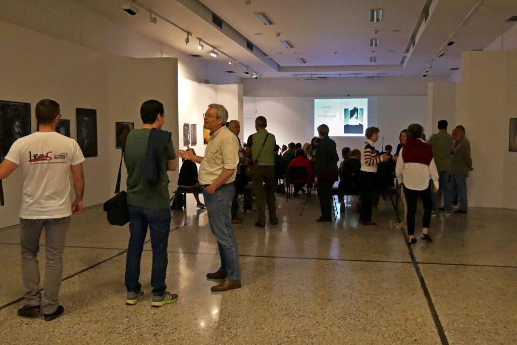"""Εγκαίνια της έκθεσης του Λεωνίδα Κουργιαντάκη """"Συρταρι ΧΧΙΙ, Φωτογραφίες σε Αποσύνθεση"""""""
