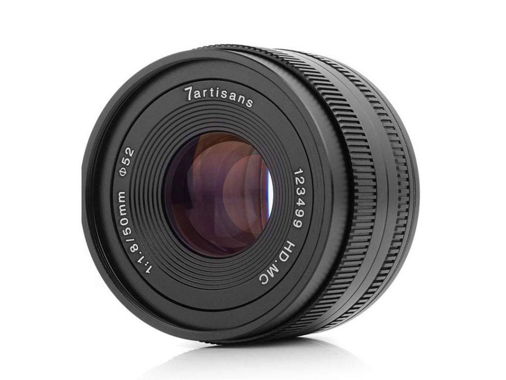 7artisans 50mm F1.8: Διάφραγμα με 12 λεπίδες και τιμή στα 89 δολάρια