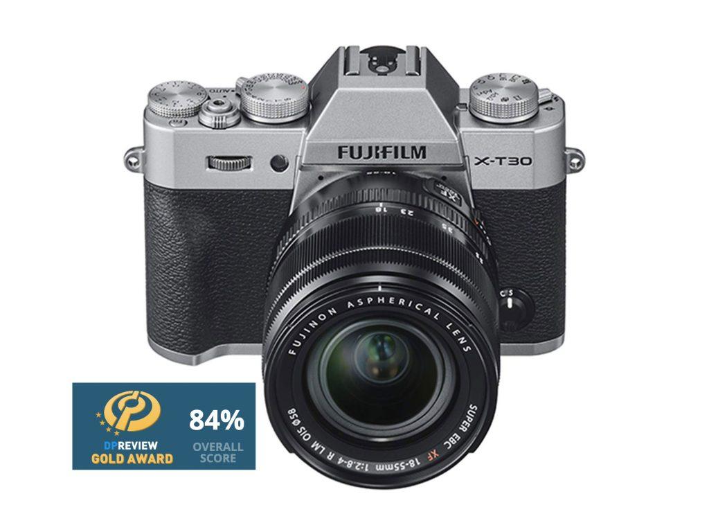 """Η DPReview """"χρύσωσε"""" την Fujifilm X-T30 με Gold Award"""